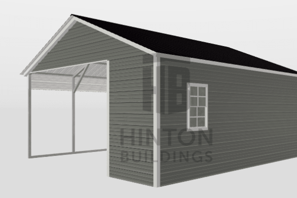 Dean from Little River, SC designed this 18x20x8 building with our 3D Building Designer.