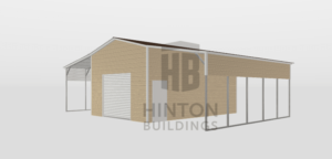 Mark from Kenly, NC designed this 18,12,12x25,25,25x12,10,10 building with our 3D Building Designer.