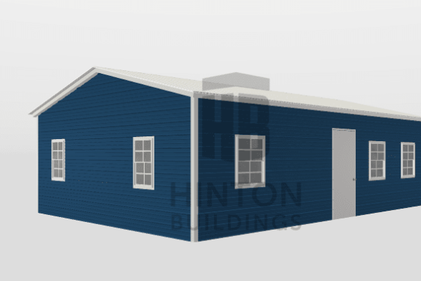 Jennifer from van horn, TX designed this 20x30x8 building with our 3D Building Designer.
