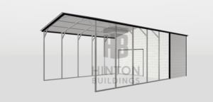 MARK from Clayton, NC designed this 20x35x12 building with our 3D Building Designer.
