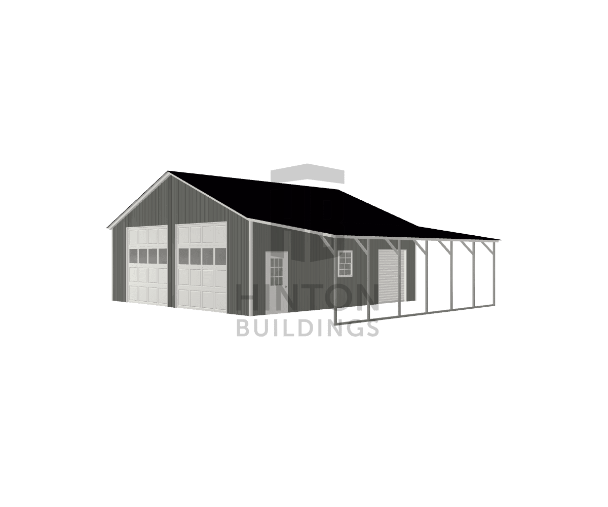 Johnnie from Nashville, NC designed this 30,12x30,30x10,8 building with our 3D Building Designer.