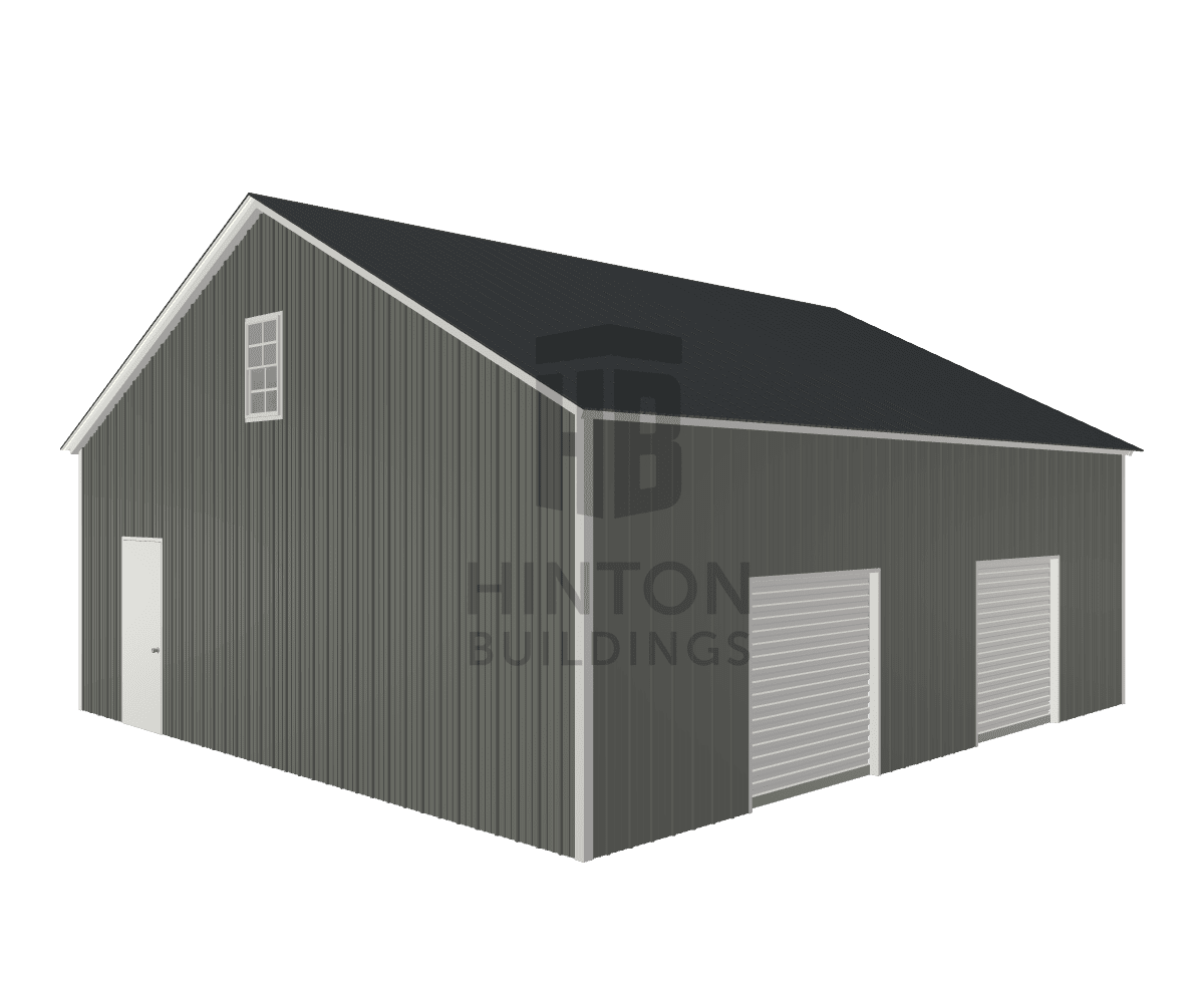 Edith from Pittsboro, NC designed this 28x30x10 building with our 3D Building Designer.