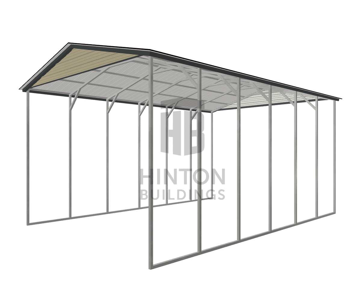 Jeremy from Belmont, NC designed this 20x30x14 building with our 3D Building Designer.