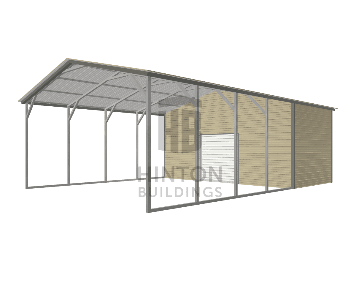 Ryan from Campobello, SC designed this 20x30x9 building with our 3D Building Designer.