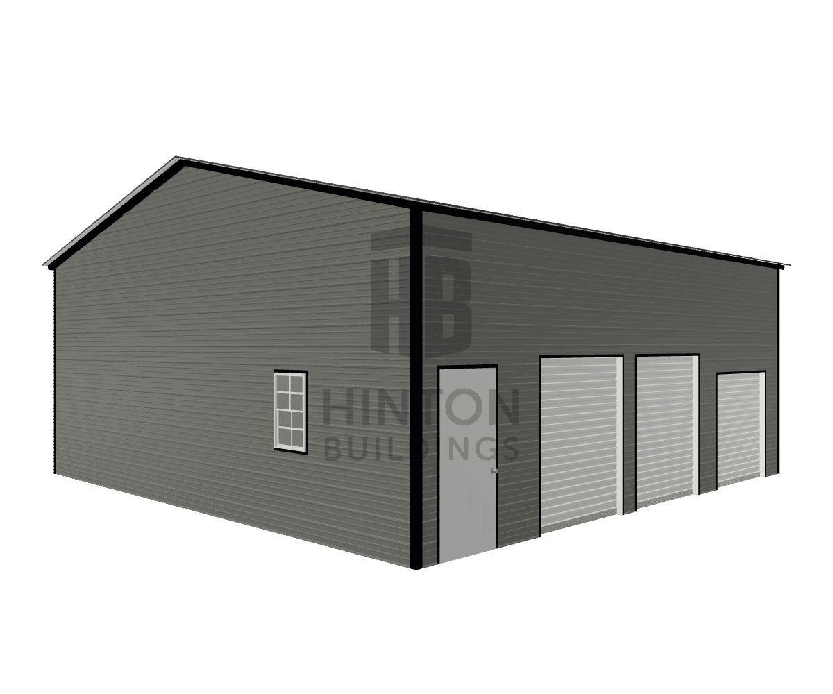 Derious from Elgin, SC designed this 30x30x12 building with our 3D Building Designer.