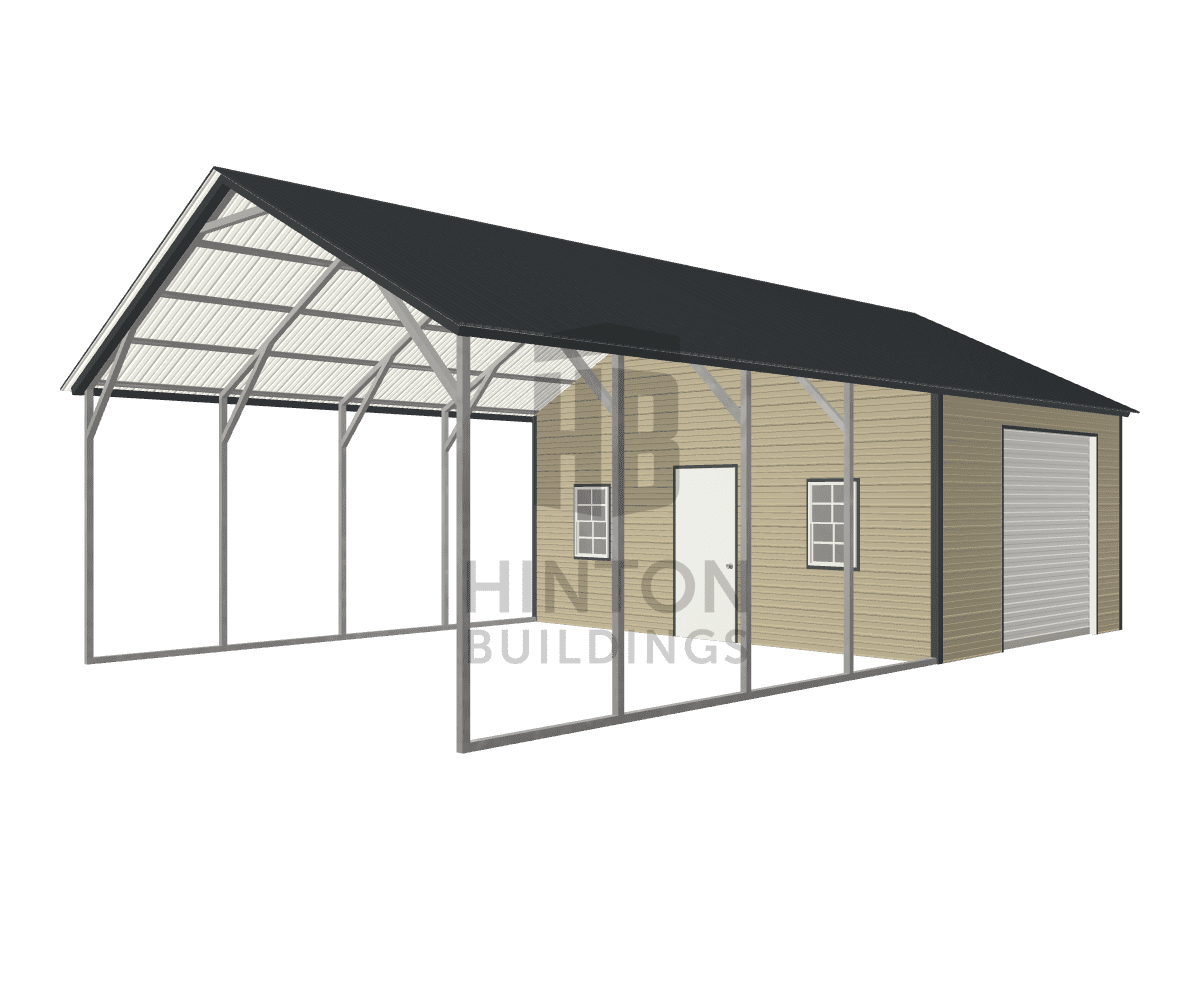 Steve from Jamesville, NC designed this 20x35x9 building with our 3D Building Designer.