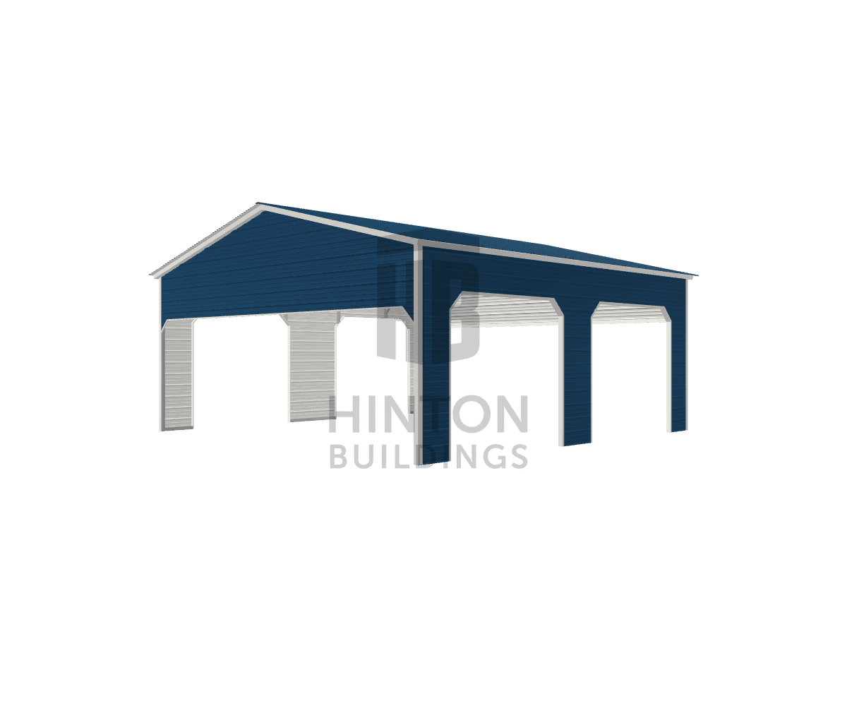 Timothy from Clayton, NC designed this 24x25x10 building with our 3D Building Designer.