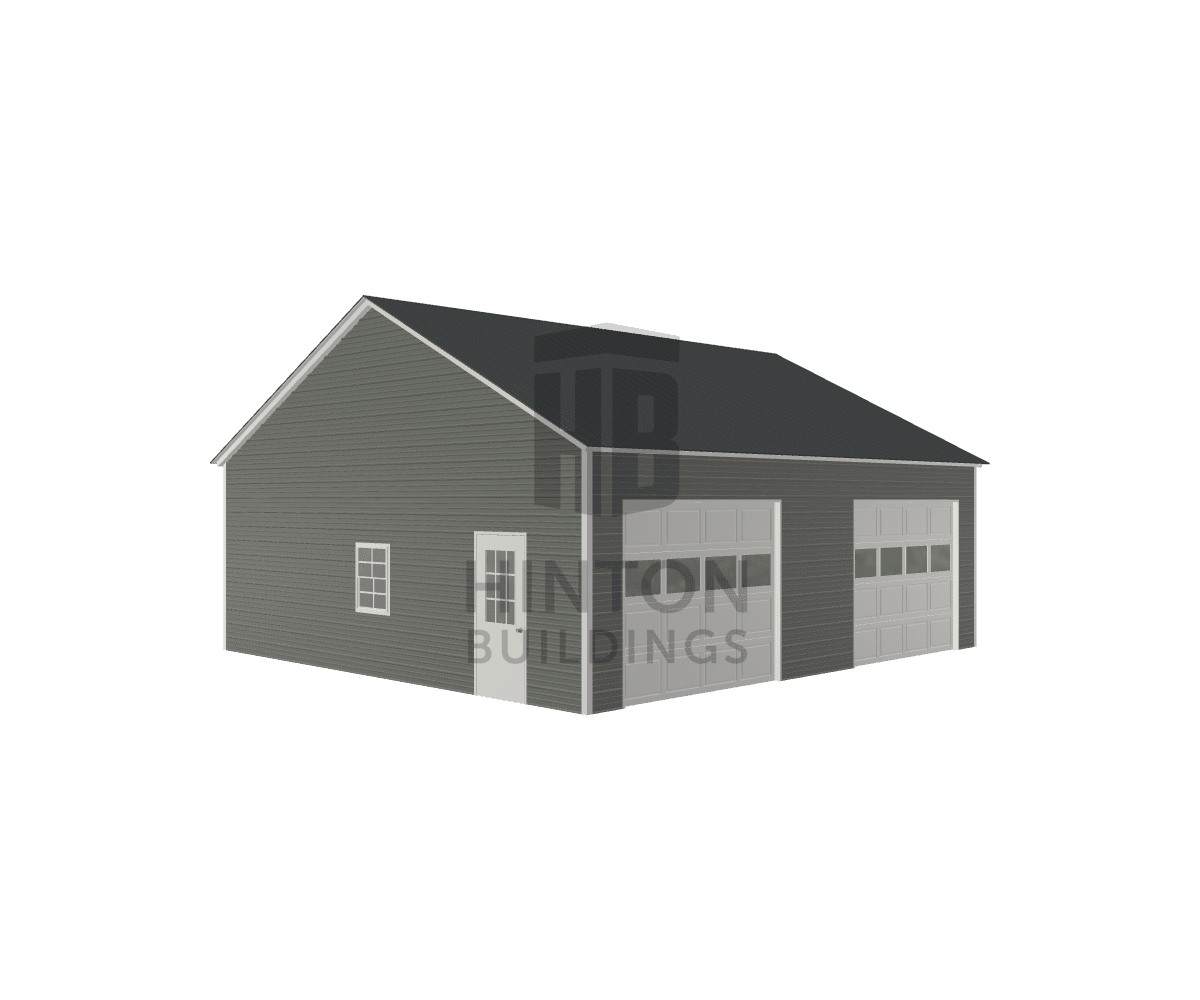 Jeff from Clayton, NC designed this 28x30x10 building with our 3D Building Designer.