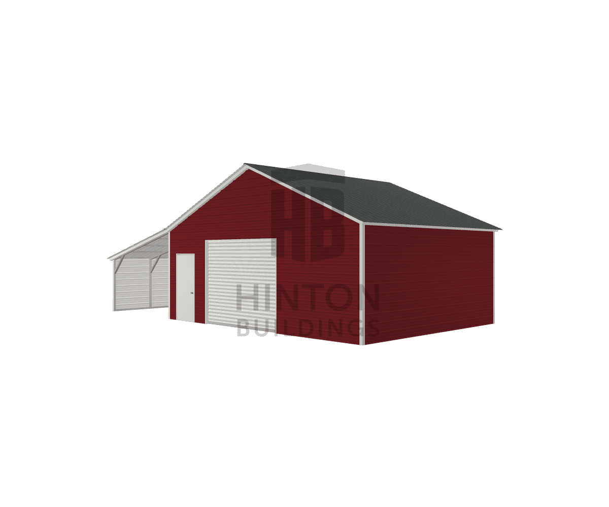 Andrew from Micro, NC designed this 26,12x20,20x9,6 building with our 3D Building Designer.
