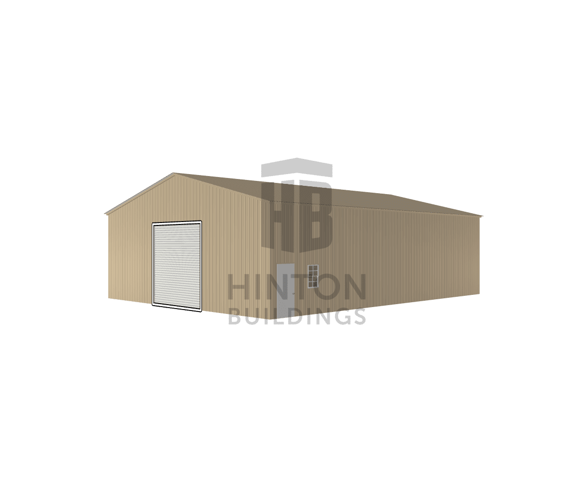 Donald from Kinston, NC designed this 40x52x14 building with our 3D Building Designer.