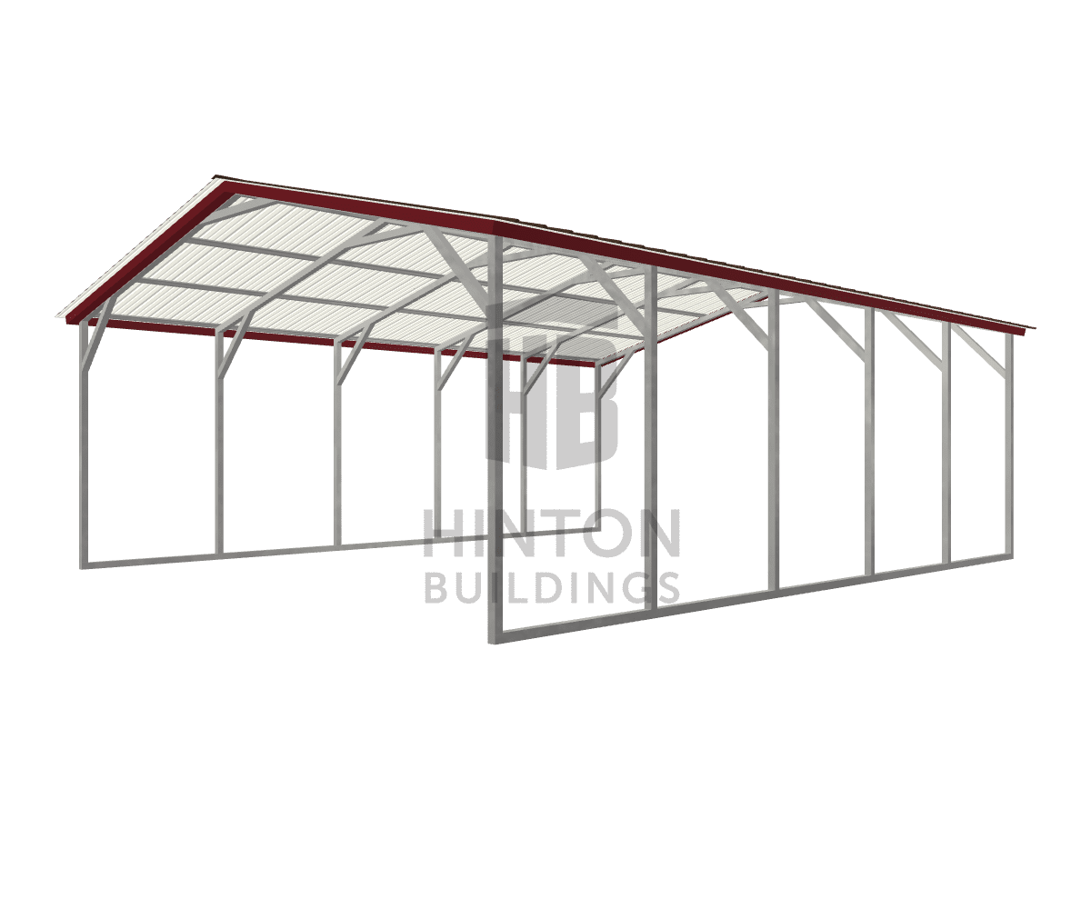 James from Roseboro, NC designed this 20x25x8 building with our 3D Building Designer.