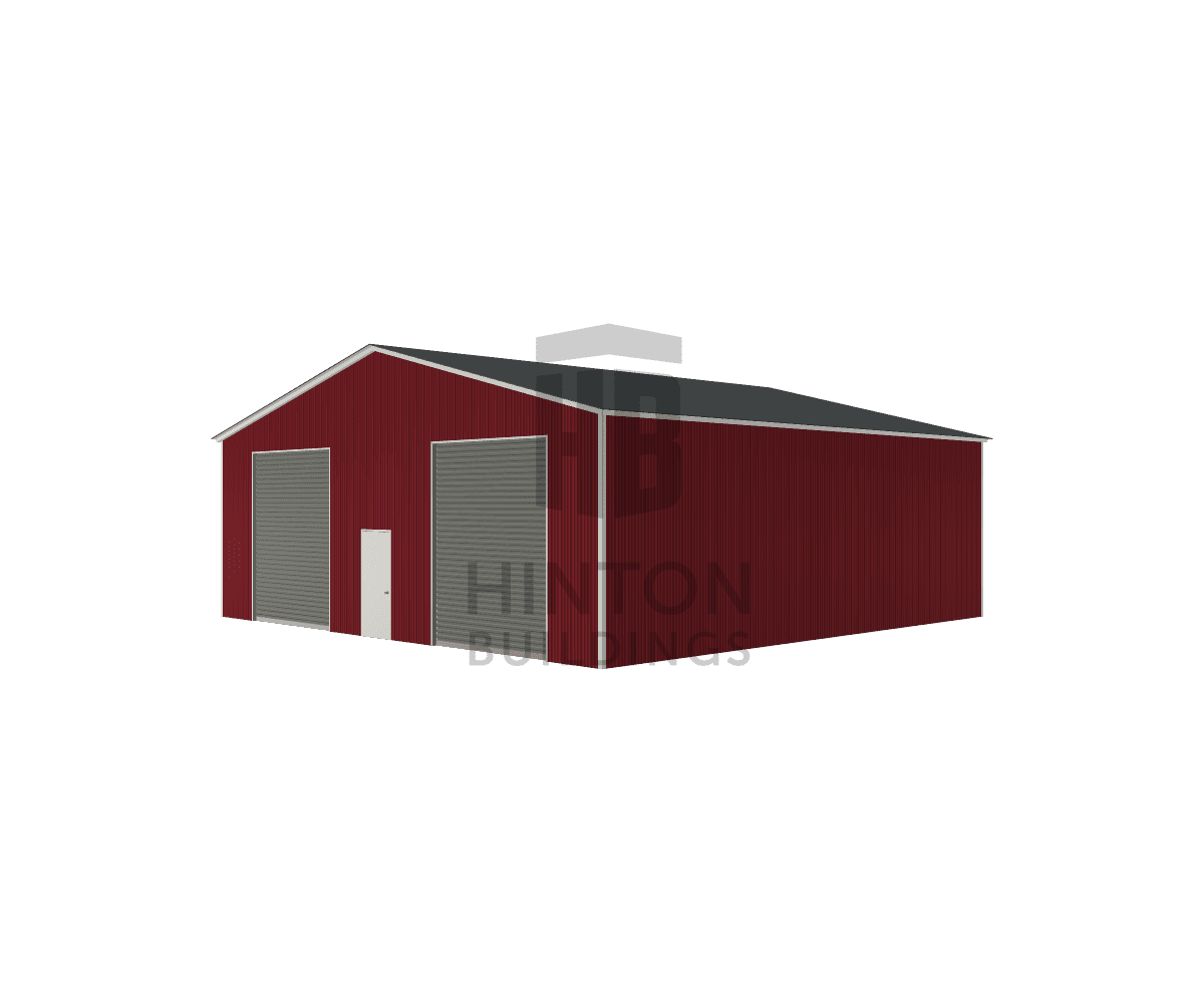 Emory from Lucama, NC designed this 40x40x13 building with our 3D Building Designer.