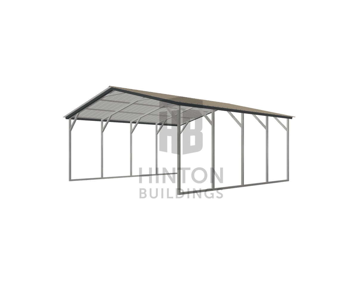Bob from Princeton, NC designed this 20x20x8 building with our 3D Building Designer.
