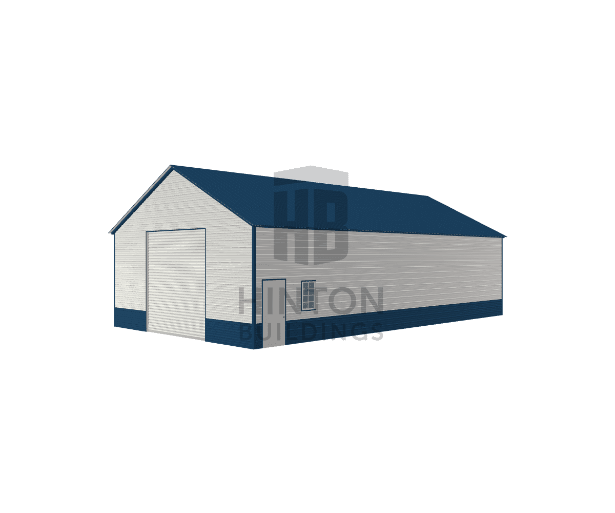 Ryan from Princeton, NC designed this 28x50x12 building with our 3D Building Designer.