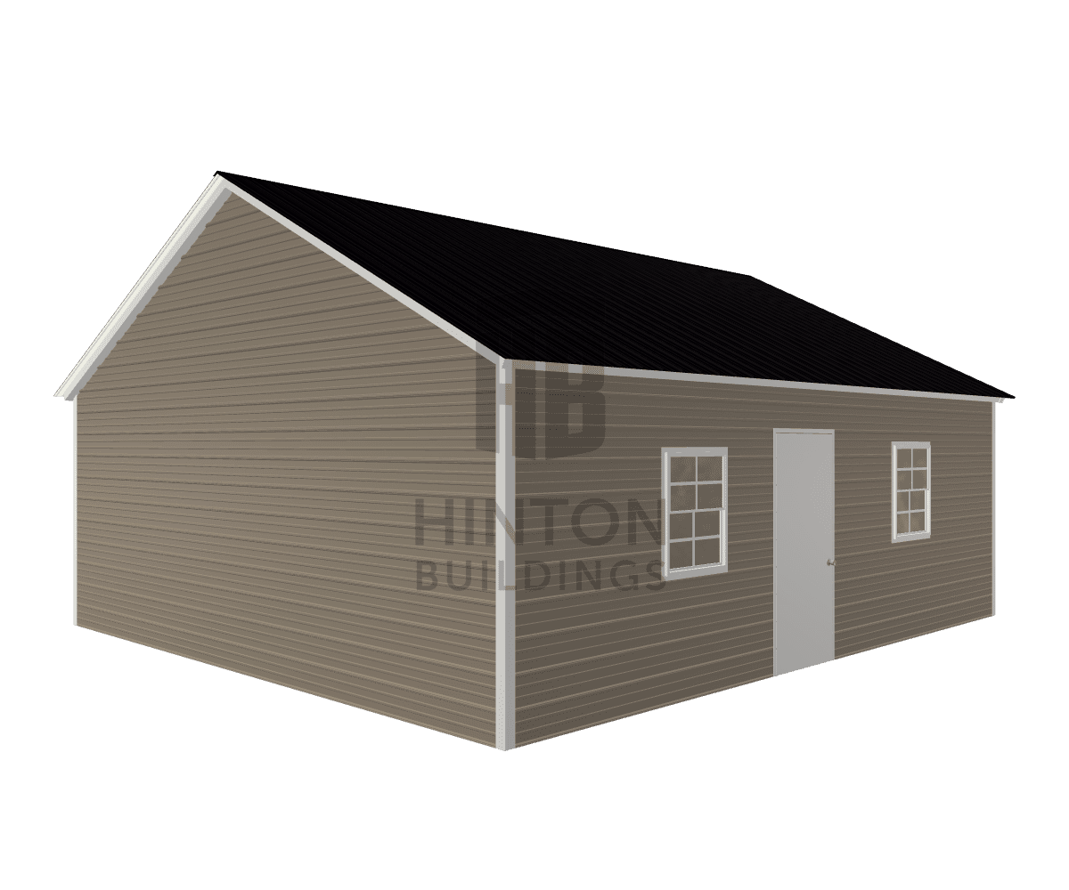 Steve from Jamesvile, NC designed this 22x25x8 building with our 3D Building Designer.
