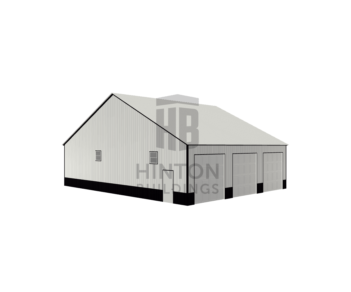 RICKY from midland, NC designed this 50x40x12 building with our 3D Building Designer.