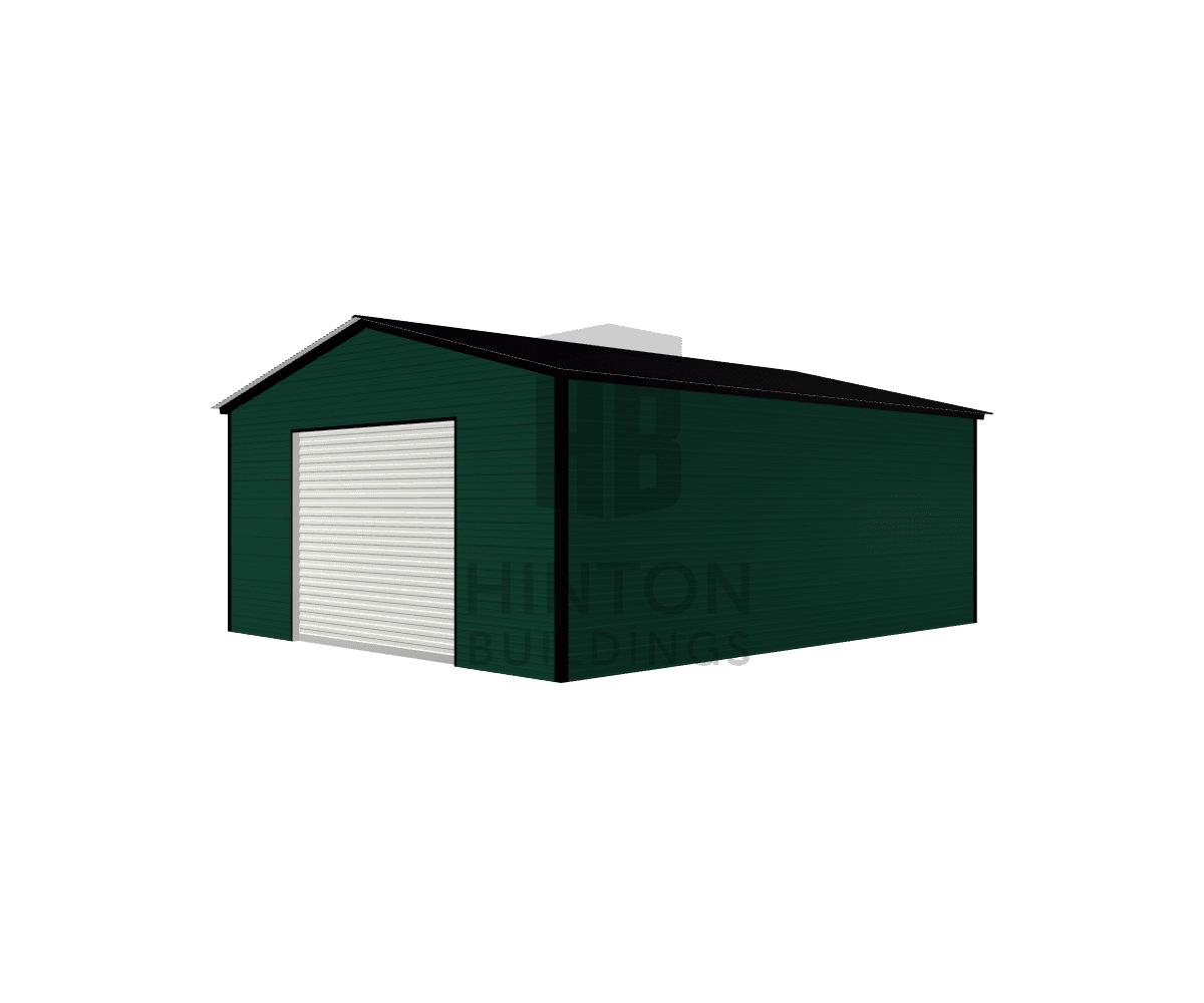 Lou from Fuquay Varina, NC designed this 20x25x9 building with our 3D Building Designer.