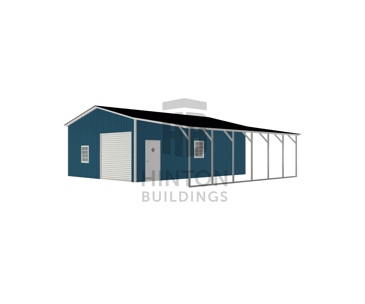 Kevin from Zebulon, NC designed this 22,12x30,30x10,8 building with our 3D Building Designer.
