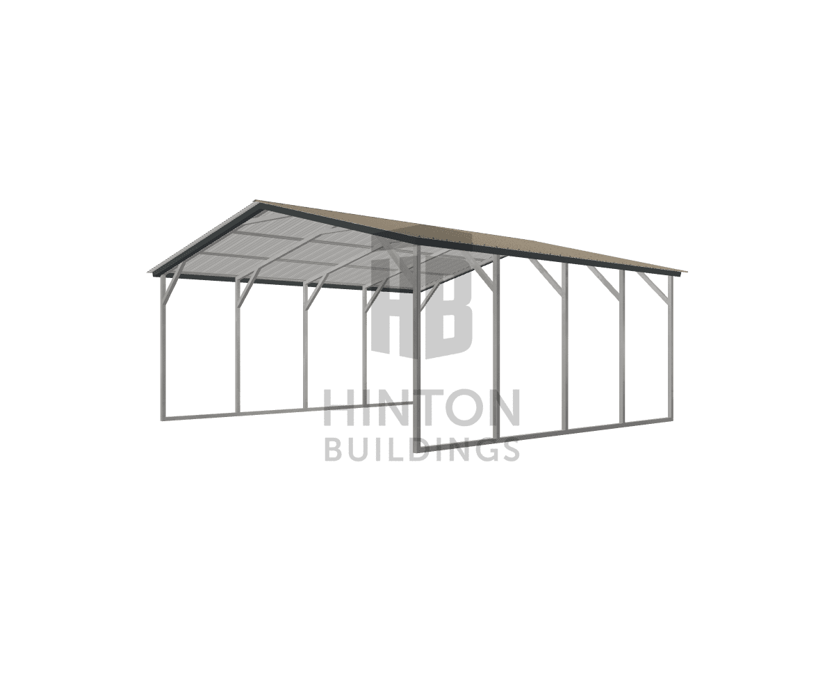 Ryan from Princeton, NC designed this 20x20x8 building with our 3D Building Designer.