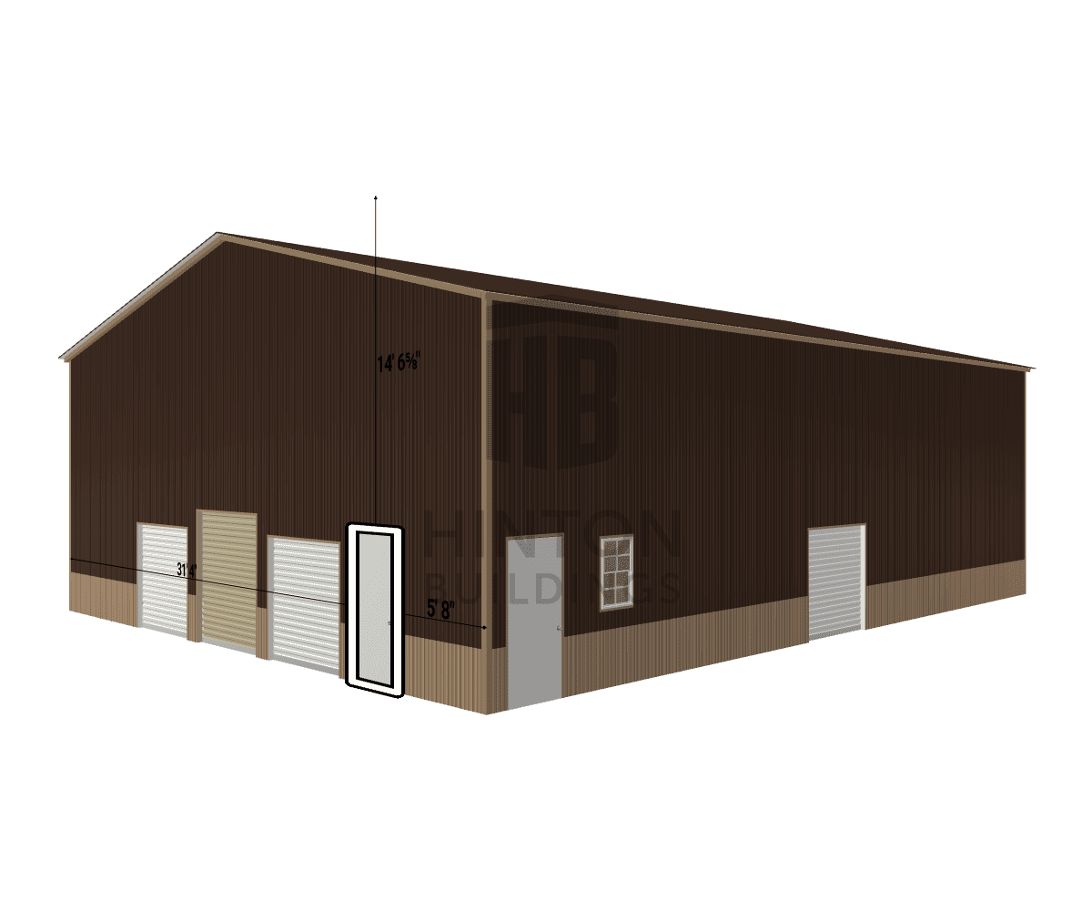Gloria from New bern, NC designed this 40x52x16 building with our 3D Building Designer.