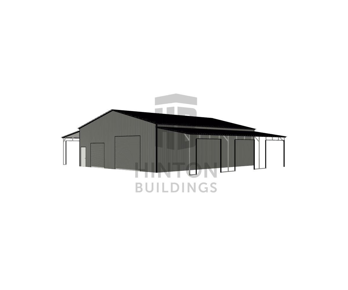 Matt from Salisbury, NC designed this 40,12,12x48,48,48x13,10,10 building with our 3D Building Designer.