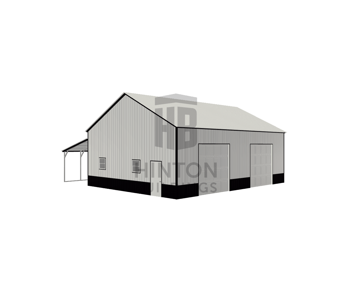 Ricky from MIDLAND, NC designed this 30,12x40,40x13,8 building with our 3D Building Designer.