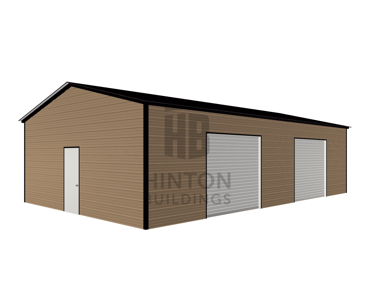 Katlyn from Smithfield, NC designed this 24x40x10 building with our 3D Building Designer.