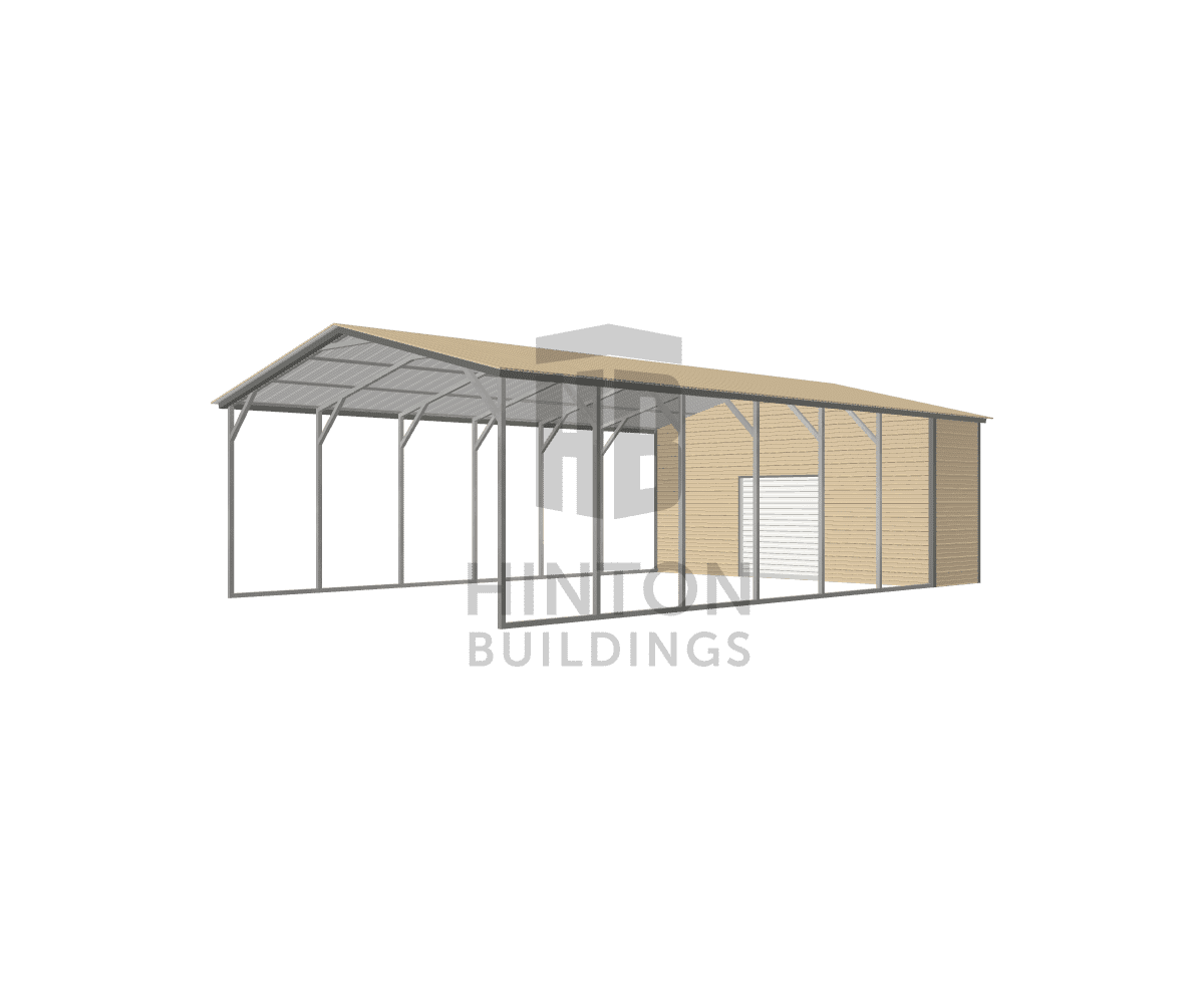 Richard from Princeton, NC designed this 20x35x9 building with our 3D Building Designer.
