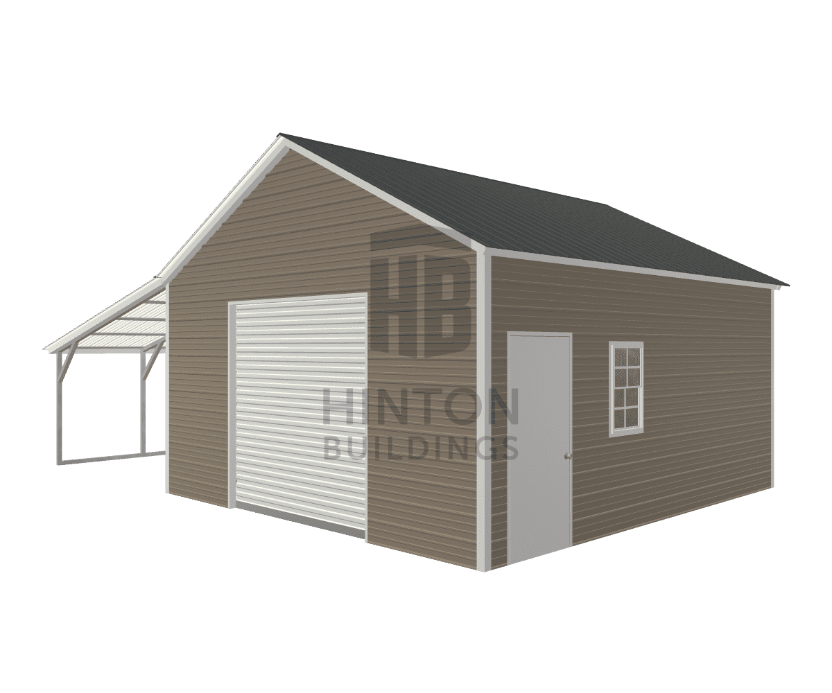 Steve from Jamesvile, NC designed this 18,12x20,20x9,6 building with our 3D Building Designer.