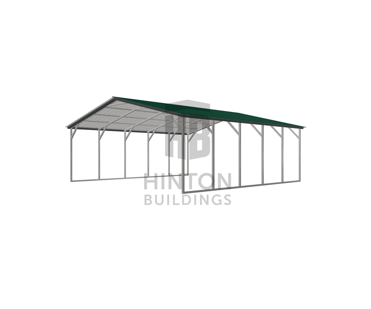 Larry from Goldsboro, NC designed this 24x25x8 building with our 3D Building Designer.