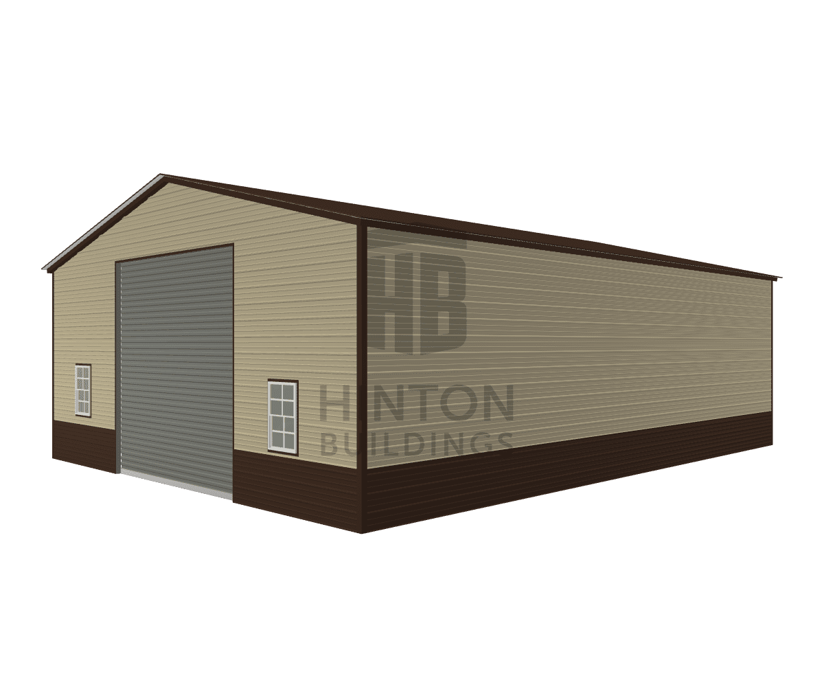 Robert from Spring Hope, NC designed this 30x40x12 building with our 3D Building Designer.