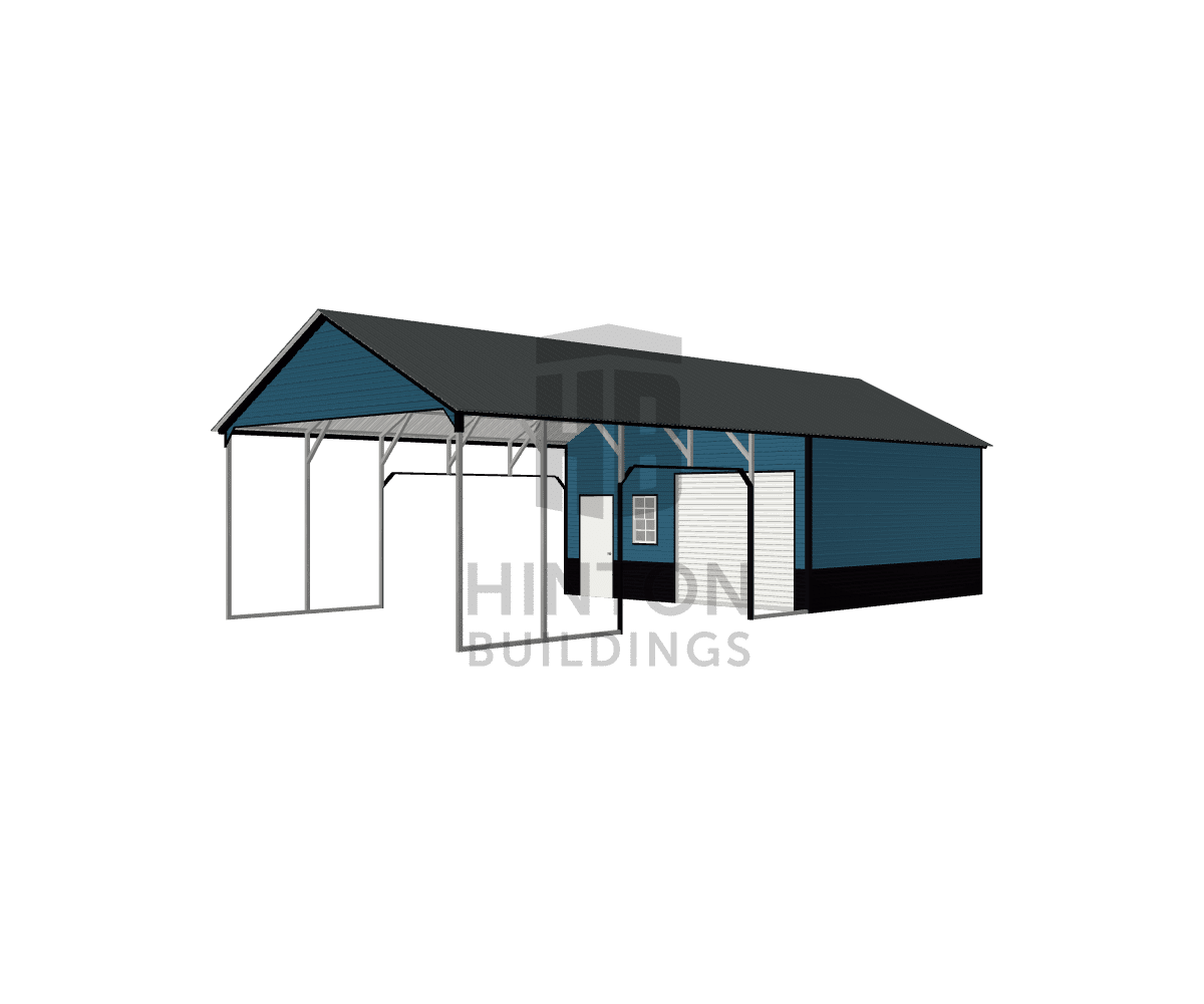 TIM from KINSTON,NC, NC designed this 20x45x10 building with our 3D Building Designer.