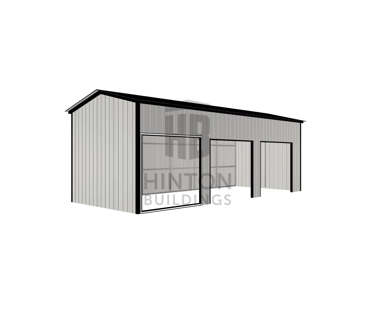 Heather from Selma, NC designed this 12x30x10 building with our 3D Building Designer.