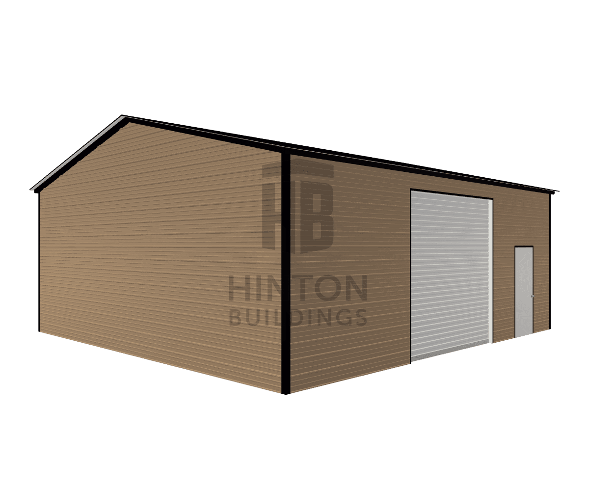 Katlyn from Smithfield, NC designed this 28x30x11 building with our 3D Building Designer.