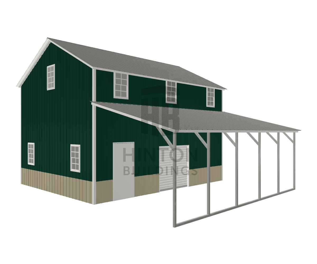 jon from Clayton, NC designed this 20,12x25,25x15,8 building with our 3D Building Designer.