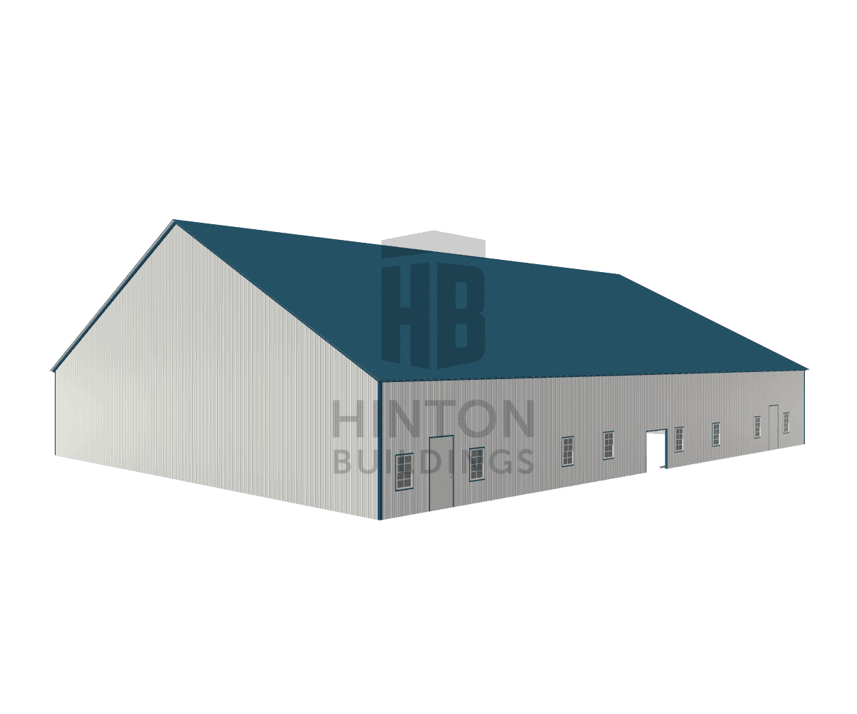 Michele from Dunn, NC designed this 70x92x12 building with our 3D Building Designer.