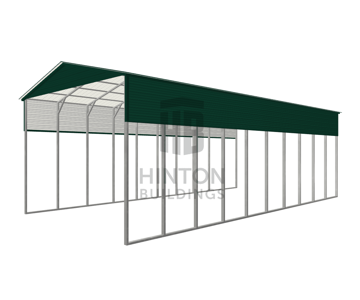 Steve from Mebane, NC designed this 24x50x16 building with our 3D Building Designer.