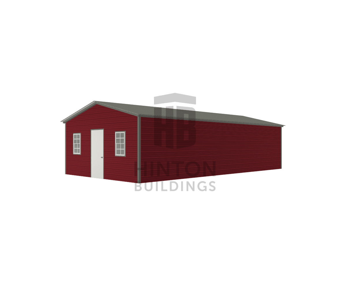 Tina from Smithfield , NC designed this 18x35x8 building with our 3D Building Designer.