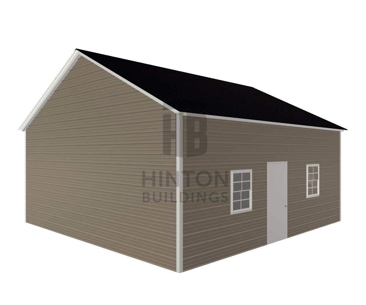 Jeffery from Hopkins, SC designed this 24x25x10 building with our 3D Building Designer.