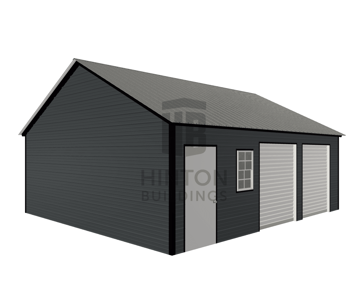 Chris from Princeton , NC designed this 22x25x8 building with our 3D Building Designer.