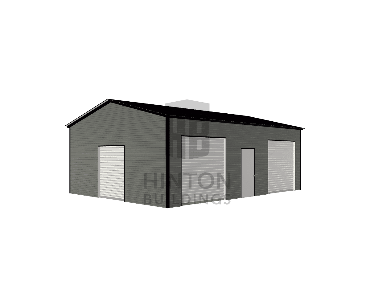 Chase from Princeton, NC designed this 22x30x10 building with our 3D Building Designer.