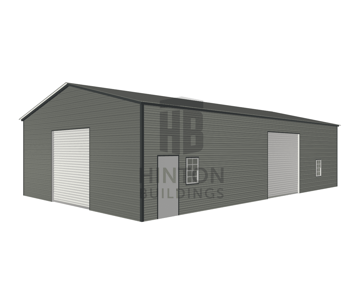 Eric from snow hill, NC designed this 30x50x12 building with our 3D Building Designer.