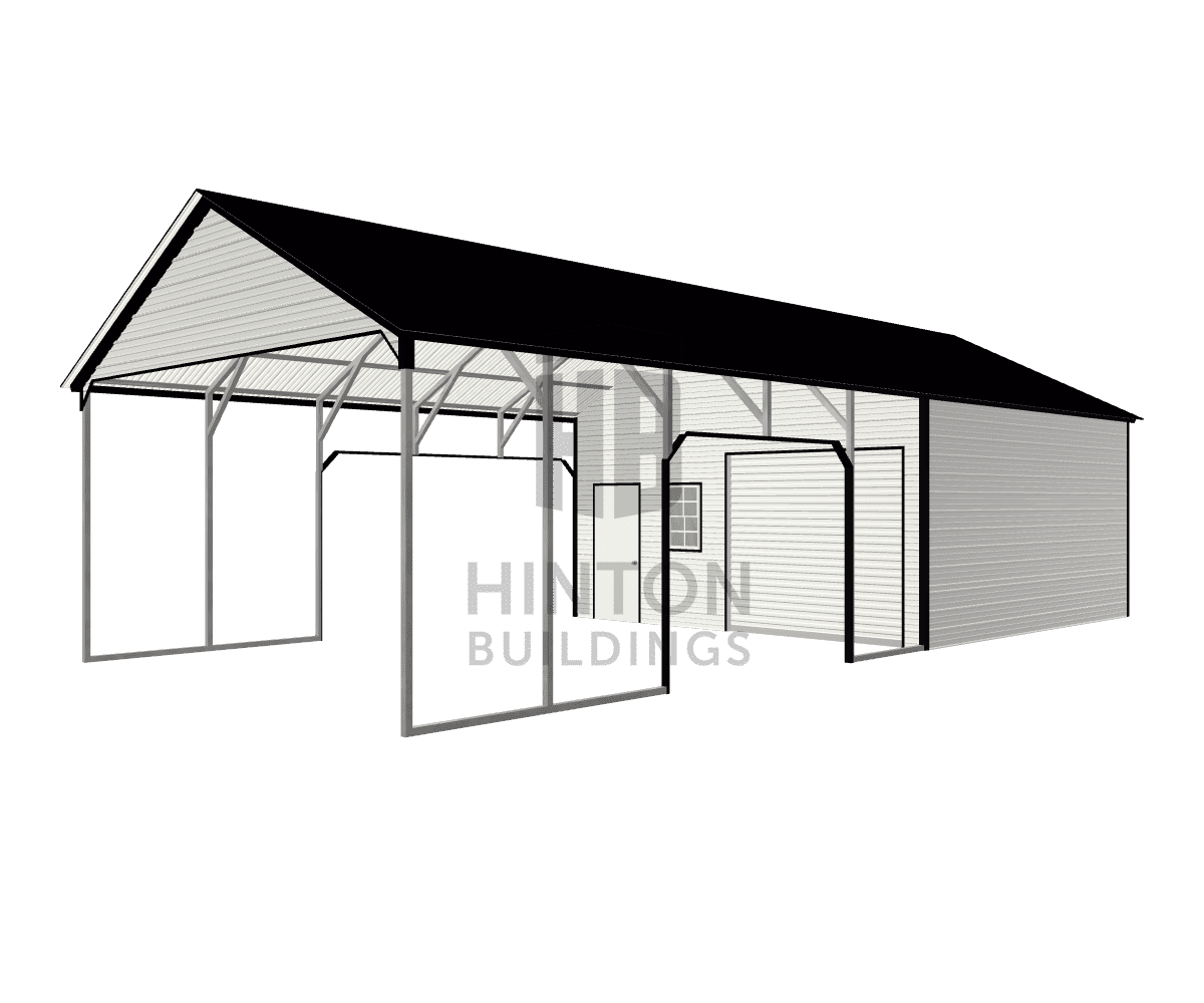 Grady from sanford, NC designed this 20x45x10 building with our 3D Building Designer.