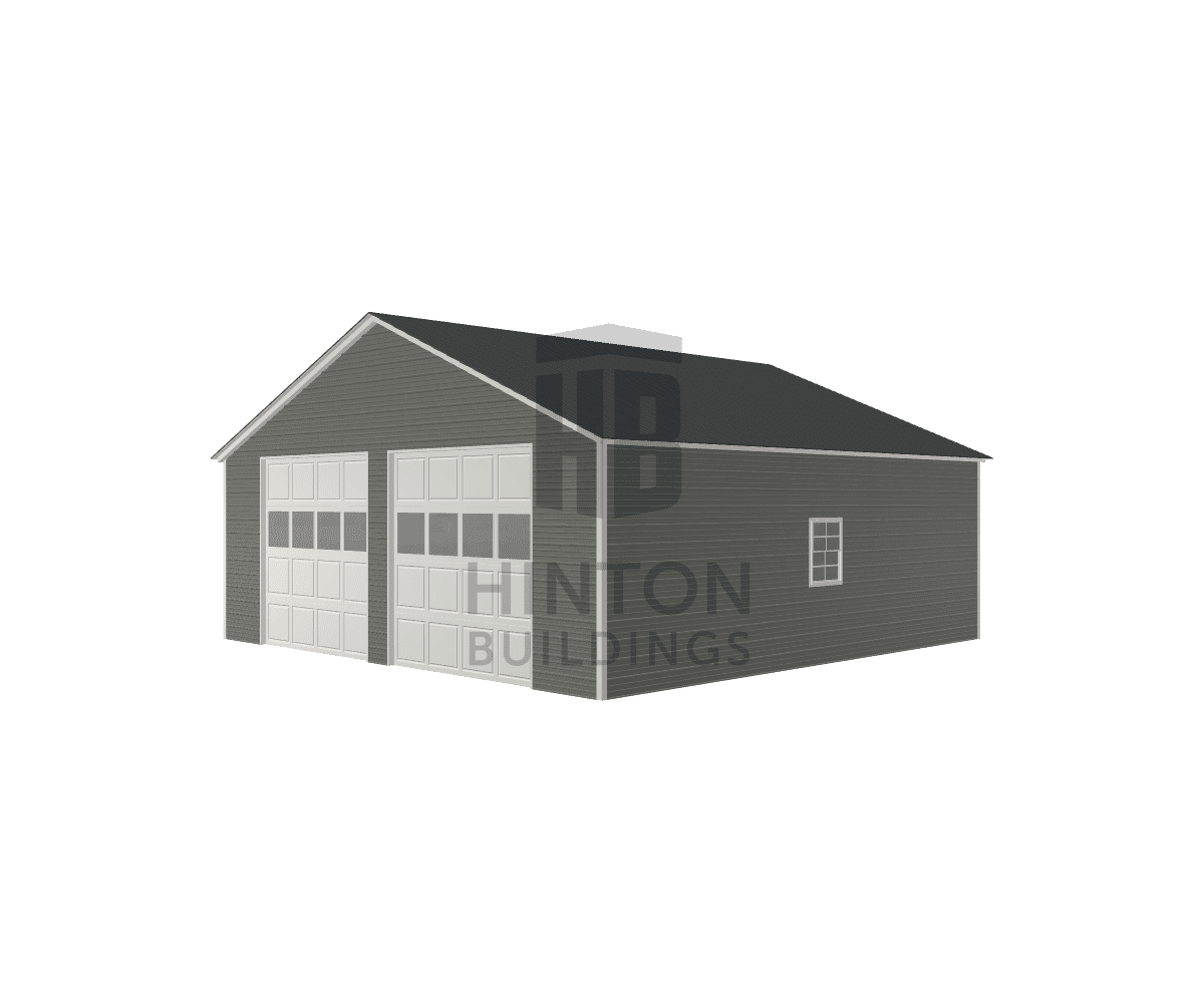 Jeff from Clayton, NC designed this 30x30x10 building with our 3D Building Designer.