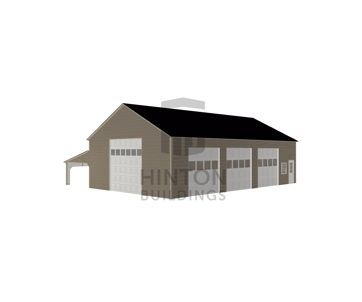Jason from Pikeville, NC designed this 30,12x50,50x12,6 building with our 3D Building Designer.