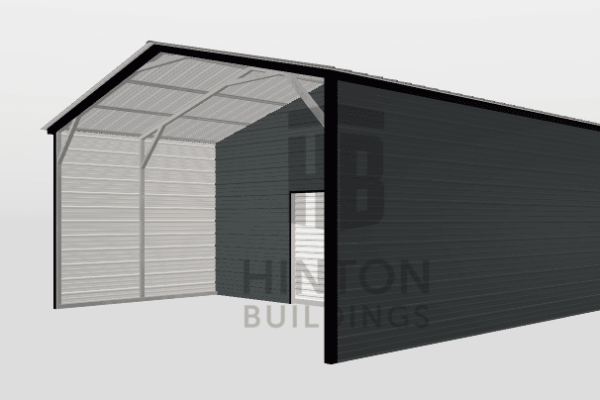 Spencer from Princeton, NC designed this 20x20x9 building with our 3D Building Designer.