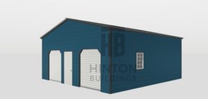 Christy from Princeton, NC designed this 24x25x10 building with our 3D Building Designer.