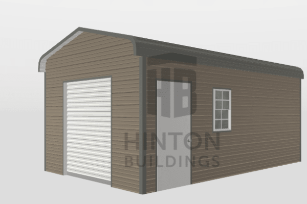 jeremy from , NC designed this 12x20x8 building with our 3D Building Designer.