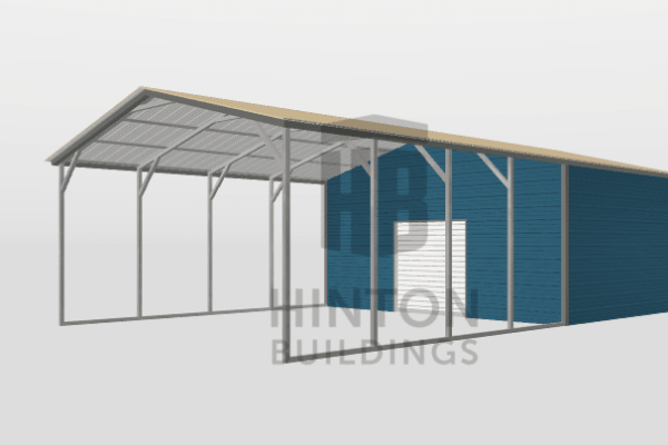 Ryan from Princeton, NC designed this 20x35x9 building with our 3D Building Designer.