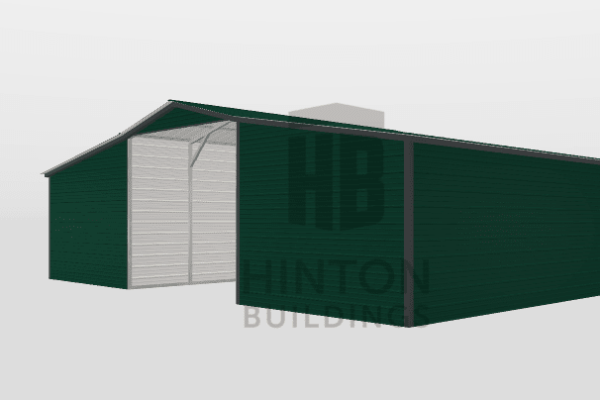 Miranda from Kempner, TX designed this 12,12,12x20,20,20x10,8,8 building with our 3D Building Designer.